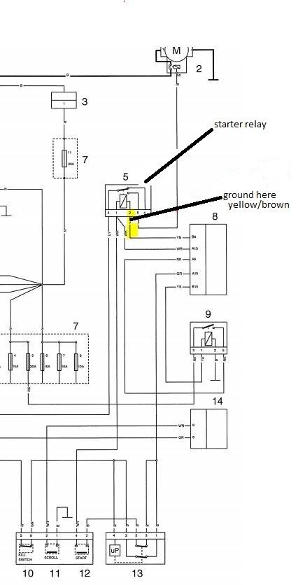 2002 yamaha road star 1600 wiring diagram forum posts (technical talk-technical talk.-stopped ... triumph thunderbird 1600 wiring diagram #4